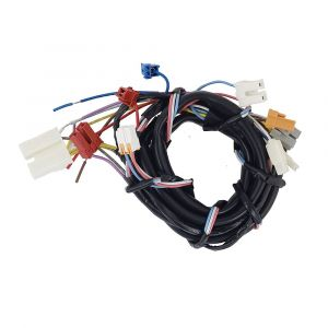 Connector lead wire unit (AXW014A8BL00) Washing Machine Panasonic