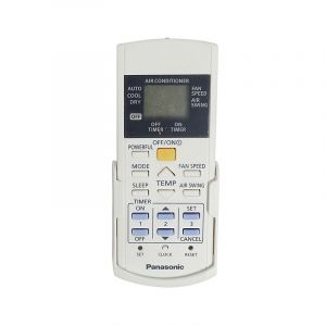Remote control switch-complete (ACRA75C03970) for Room Air Conditioner for Model CU-UC18SKY3R Panasonic
