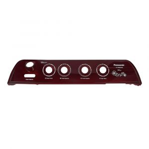 Panasonic Washing Machine Panel deco (middle deco) pana red for model NA-W85G4RRB (03HMRM471110202)