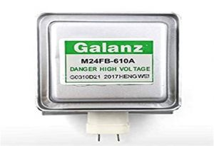 Microwave Magnetron Compatible with LG 2M214, LG 2M213, Galanz 410A, Galanz 610A , Daewoo RM269, Panasonic 2M261, Silver (MG-001_Magnetron)