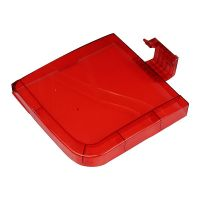 Panasonic Washing Machine Spin lid red 6579 (full transparent abs for model NA-W65B3RRB (03HMRM680040106)