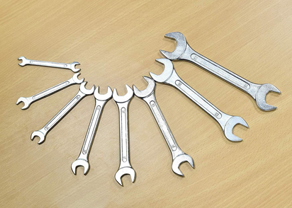 Toolkits - Spanners, Pliers and Hammers